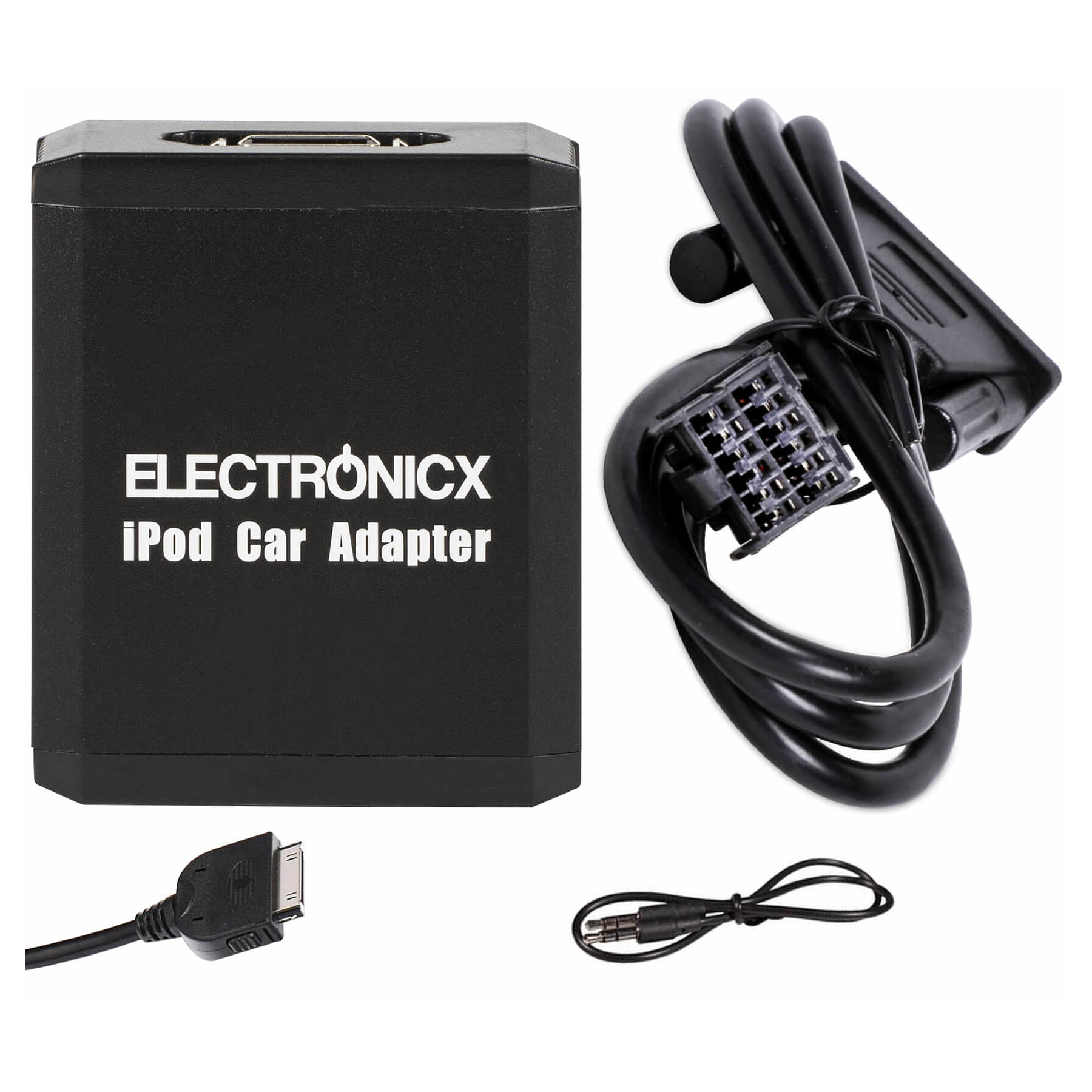 Adapter AUX iPhone iPad iPod CD Wechsler Mazda Ford bis 2009