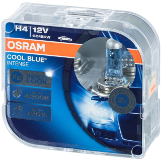 Osram Cool Blue Intense H4 64193CBI-HCB Duo Box car lamp