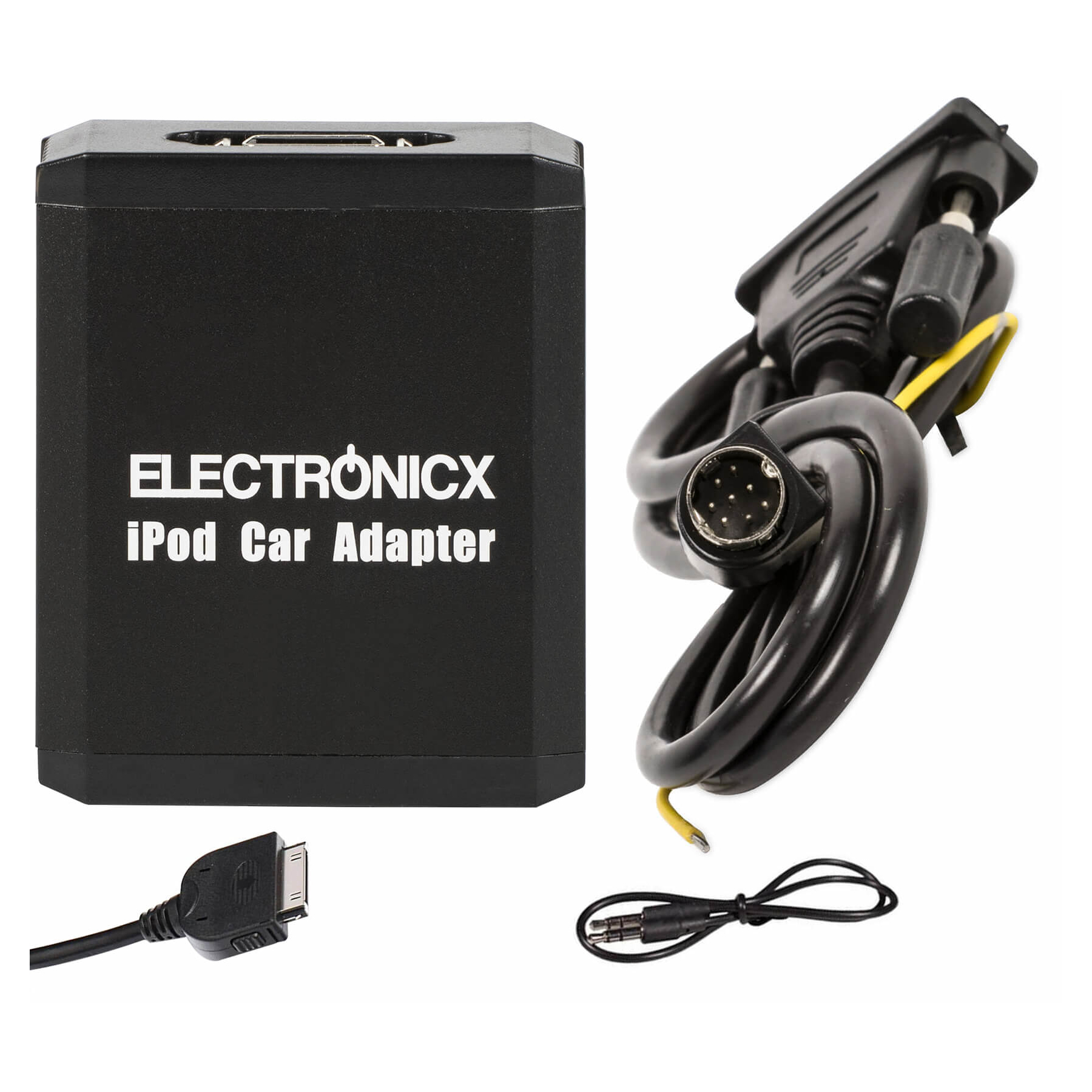 Adapter AUX iPhone iPad iPod CD Wechsler Volvo SC Radios