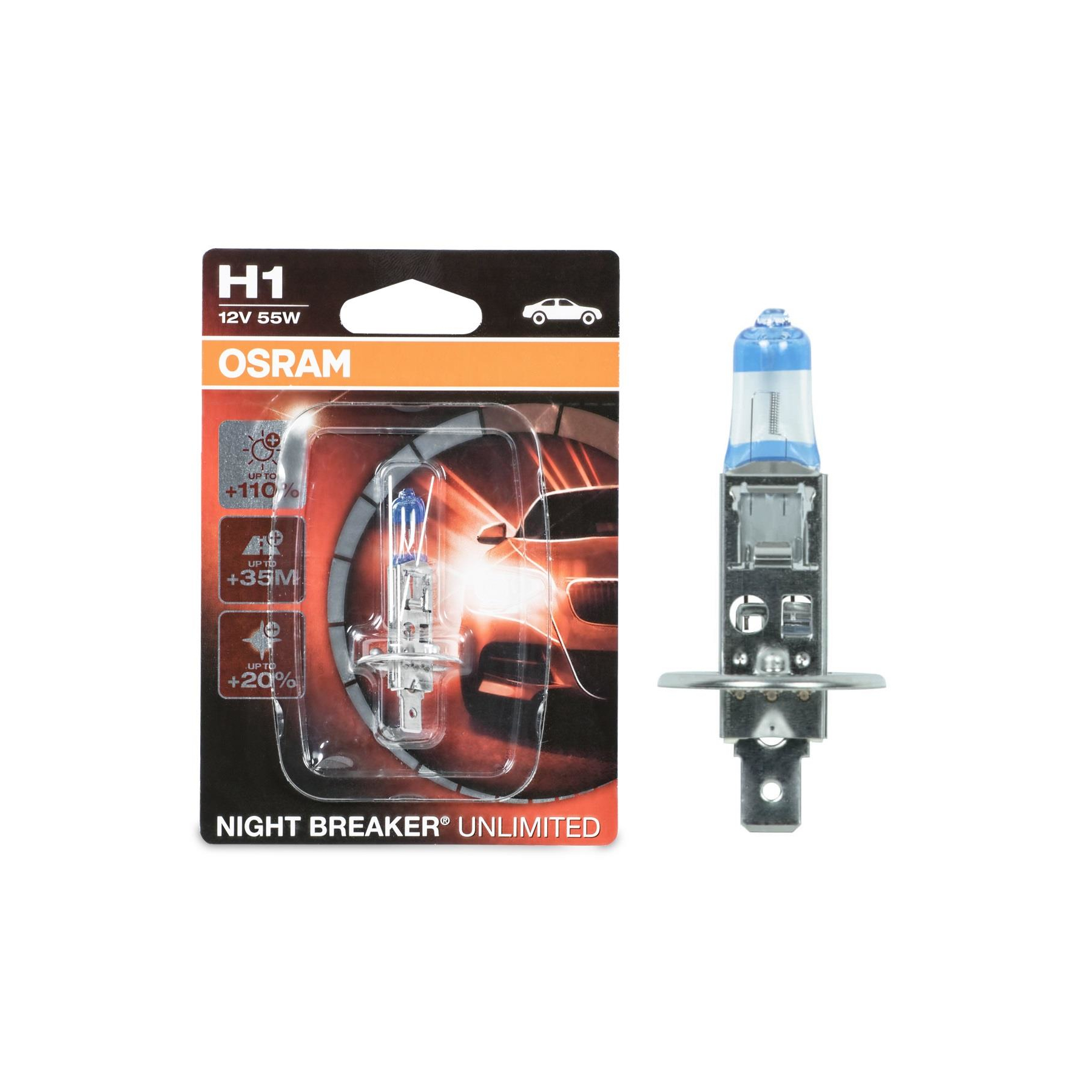 Osram H1 Night Breaker Unlimited 64150NBU-01B Autolampe 1 St. Einzelblister