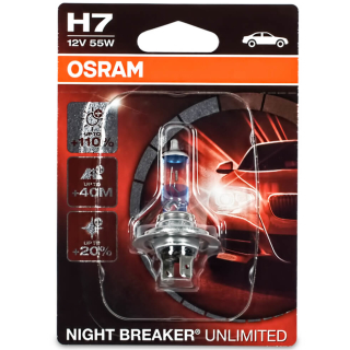 Osram H7 Night Breaker Unlimited 64210NBU-01B Autolampe 1 St.EB