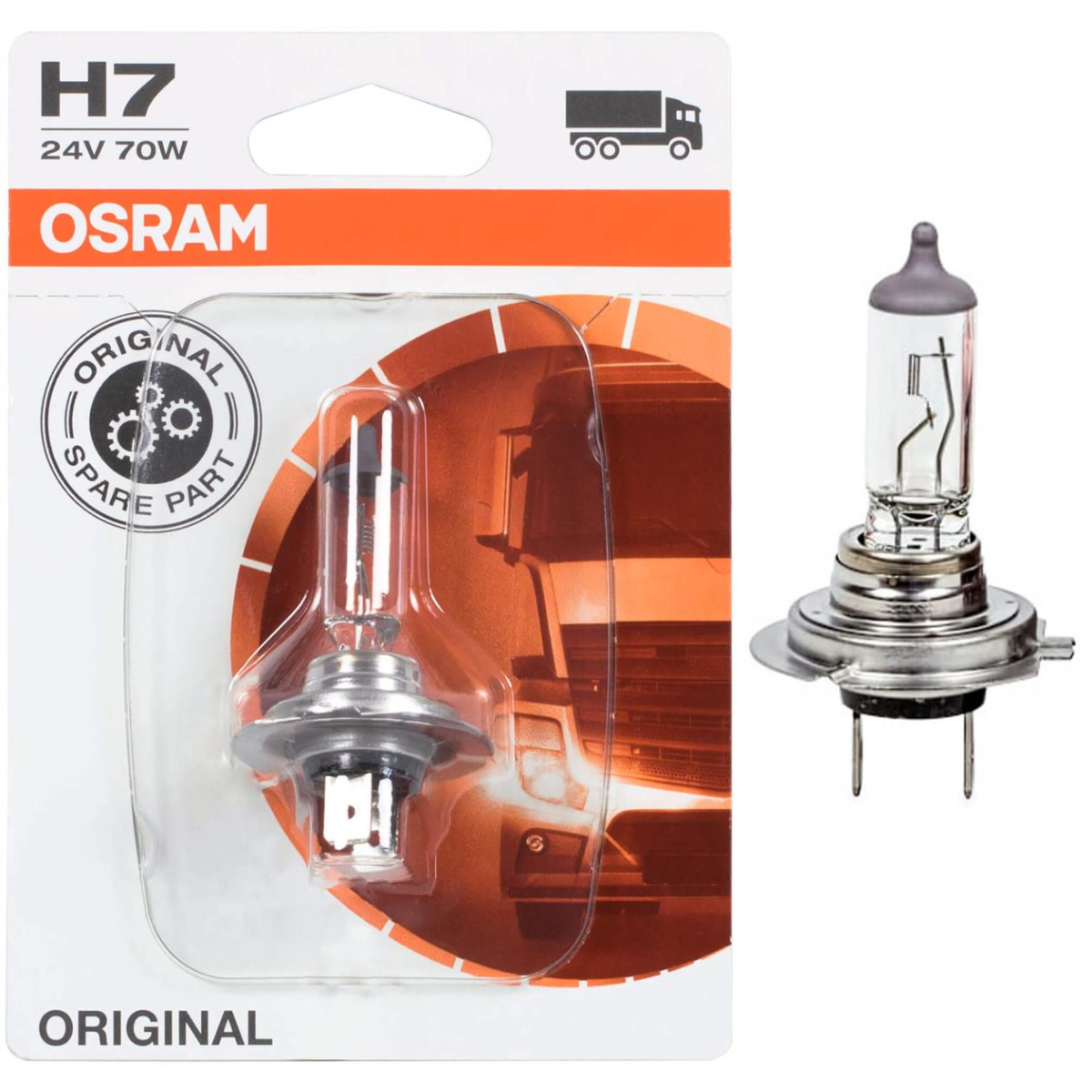 Osram Original Line H7 64215-01B 24V truck headlight bulb 1 pc blister