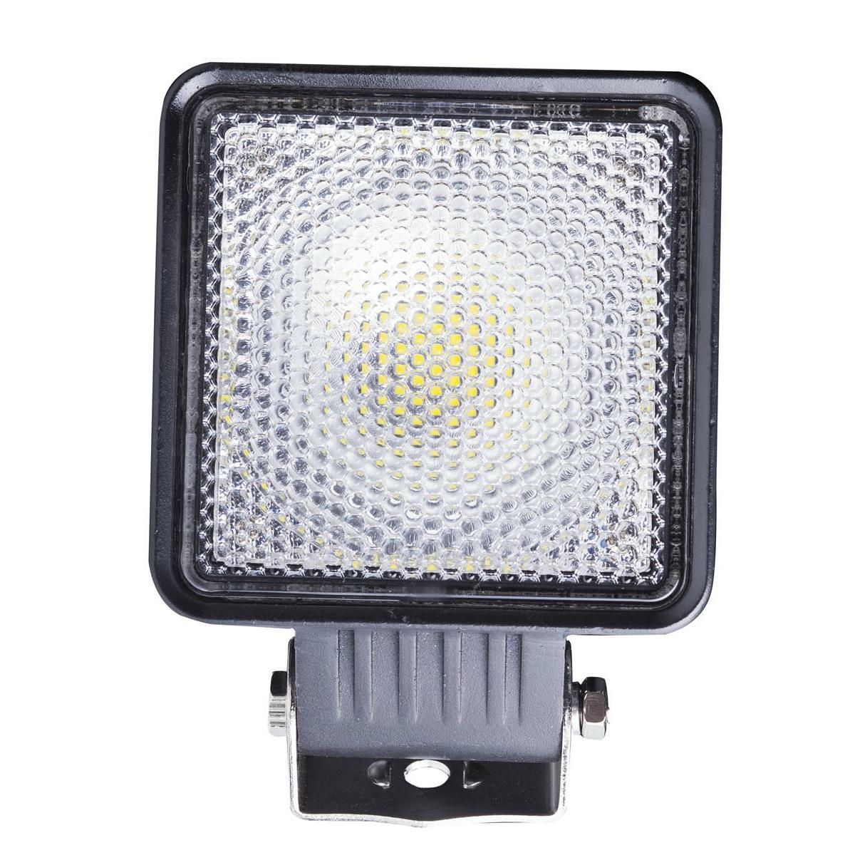 LED Arbeitsscheinwerfer LY8030 12V 24V 30W IP67 eckig schwarz