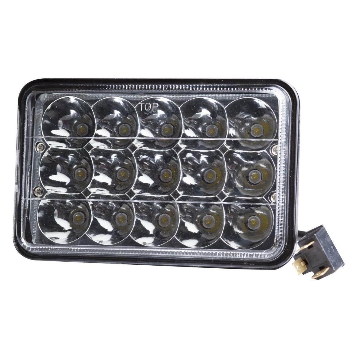 LED worklight LY8045C 12V 24V square black