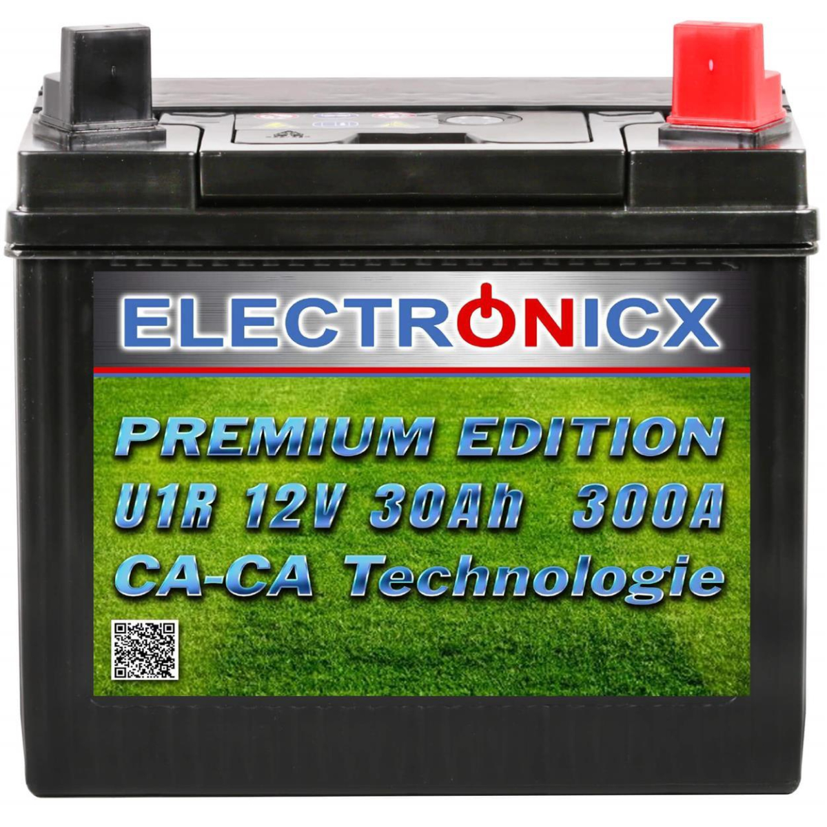 Electronicx U1R 30Ah 300A Green Power ride-on lawnmowers and garden equipment