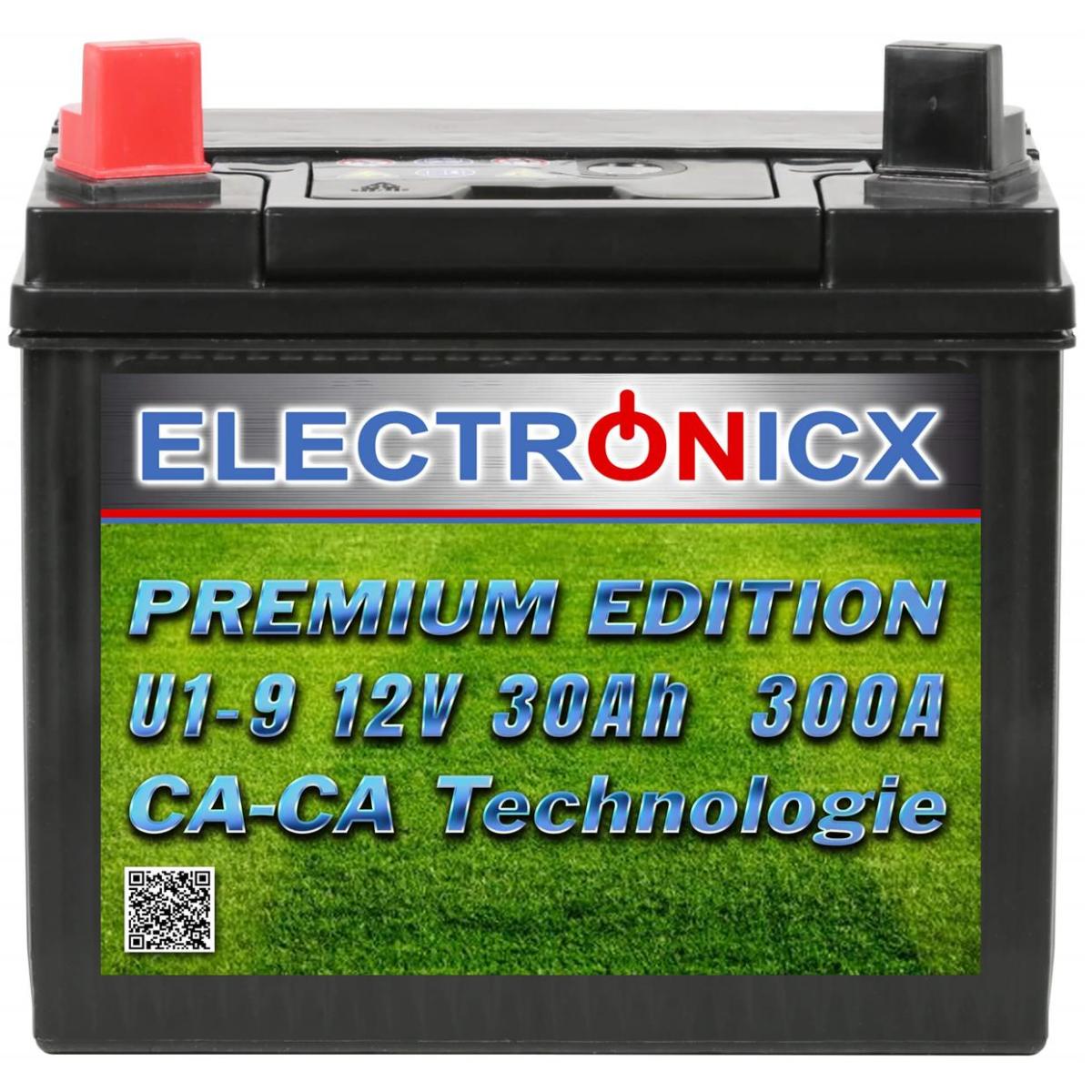 Electronicx U1(9) 30AH 300A(EN) Green Power Riding Lawn Mowers and Garden Equipment