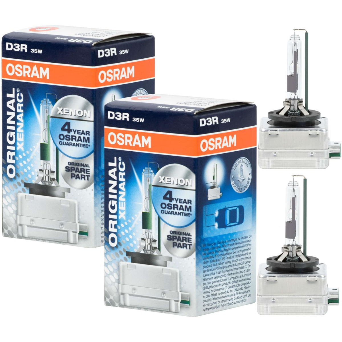 Osram Xenarc Original D3R 66350 Xenon torch (2 pcs.)