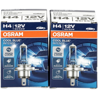 Osram H4 Cool Blue Intense 64193CBI Car lamp (2 pieces)