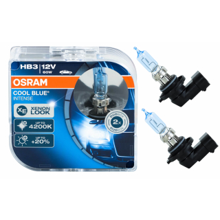 Osram Cool Blue Intense HB3 9005CBI-HCB Autolampe Duo Box