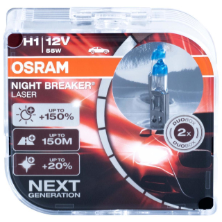 Osram Night Breaker Laser H1 64150NL-HCB 12V 55W Next...