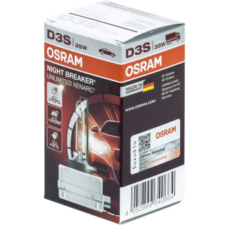 osram night breaker unlimited d3s 66340xnb autolampen 120. Black Bedroom Furniture Sets. Home Design Ideas