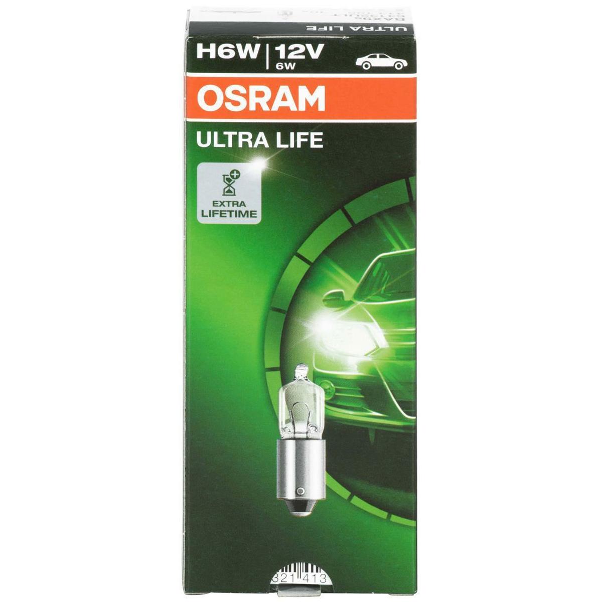 Osram H6W Ultra Life 64132ULT Autolampe (2 Stück)