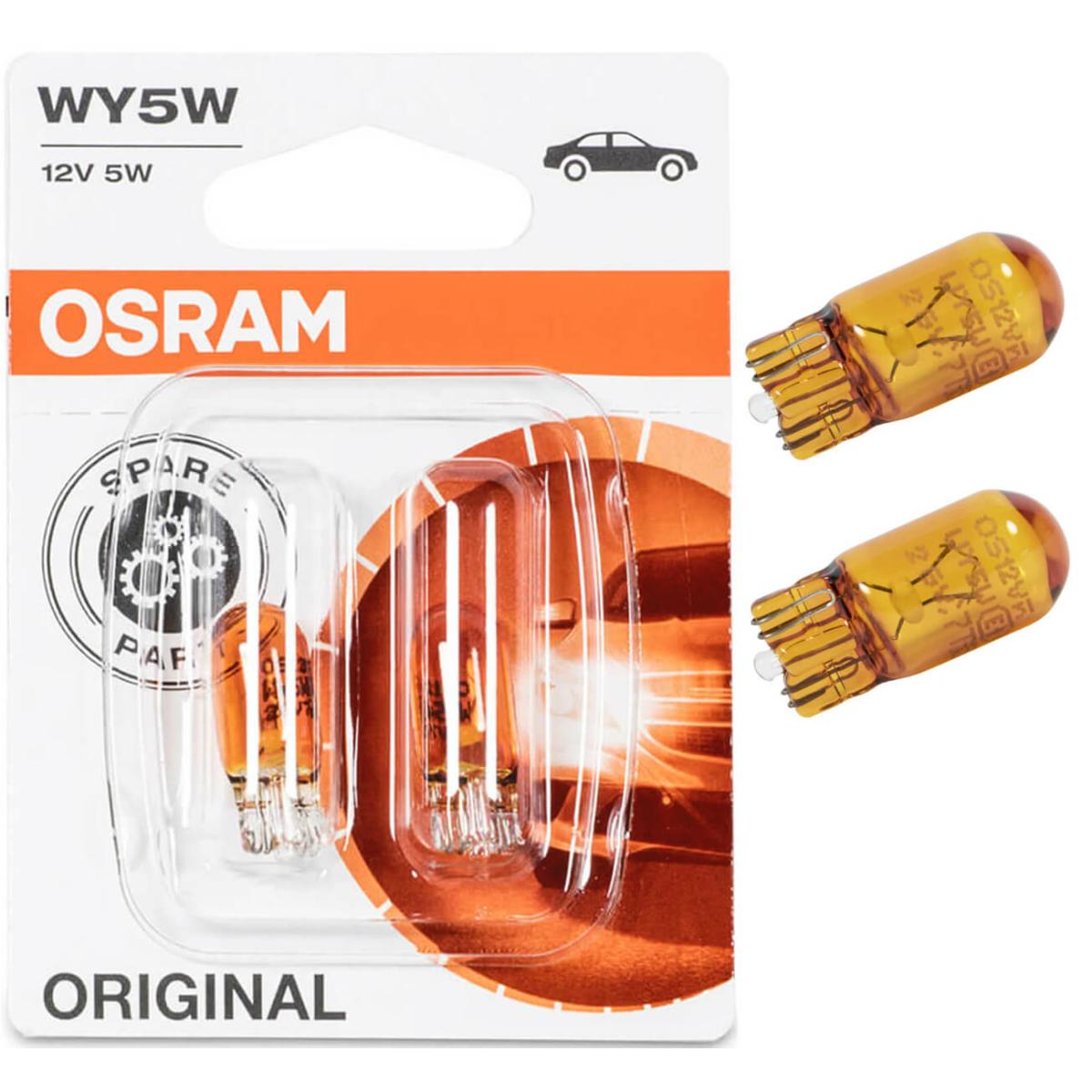 Osram Original Line 2827-02B WY5W 12V flashing light lamp 2 pcs. DB