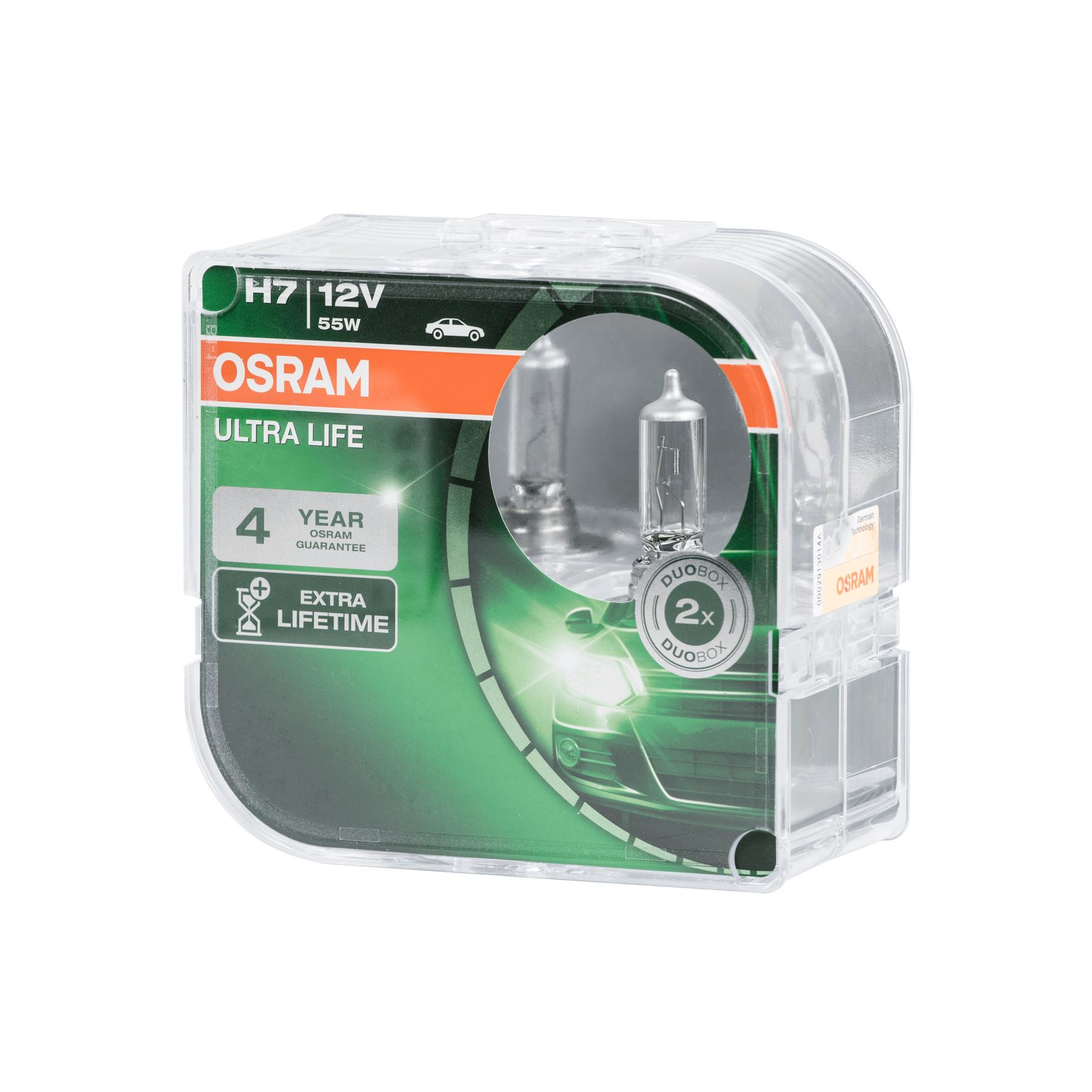 osram ultra life h7 64210ult hcb autolampen duo box 11 70. Black Bedroom Furniture Sets. Home Design Ideas