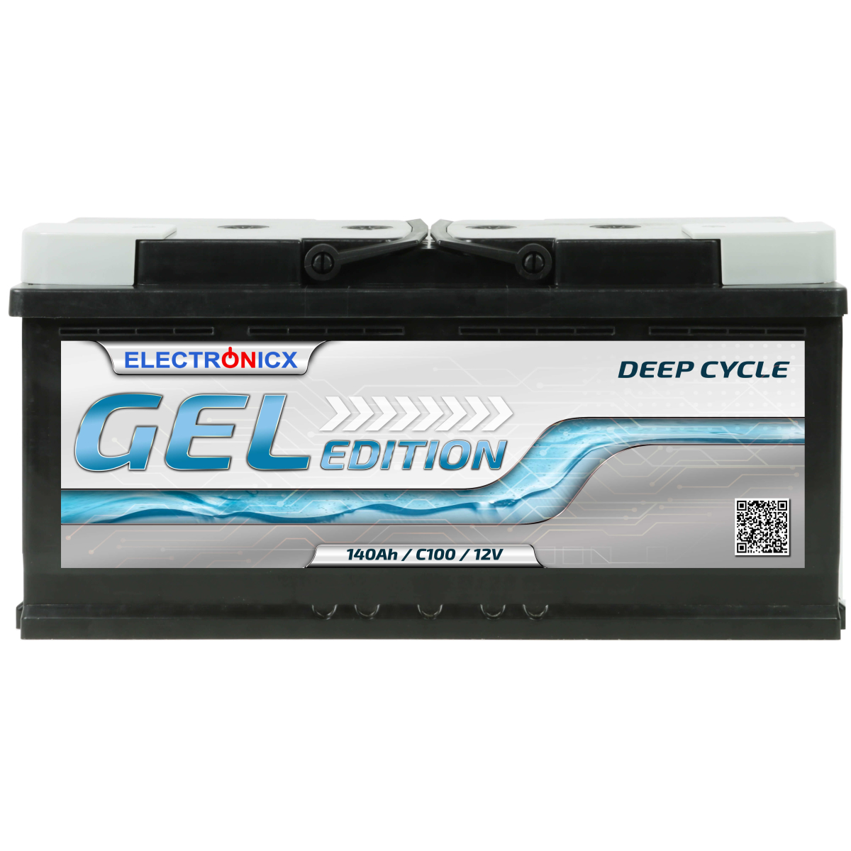 Electronicx Edition Gel Batterie 140 AH 12V Wohnmobil Boot Versorgung