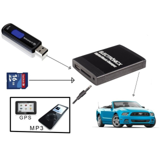 Adapter USB SD AUX JVC Unilink