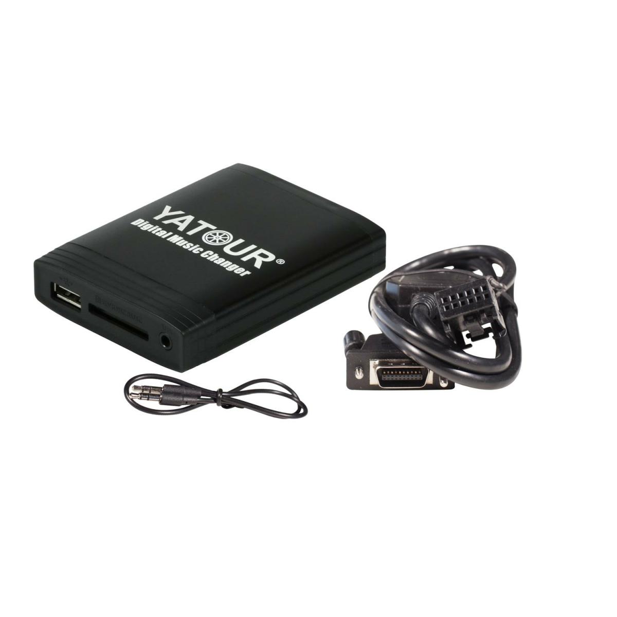 Yatour USB SD AUX Adapter + Bluetooth Peugeot & Citroen RD4-BT