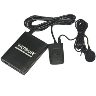 Yatour USB SD AUX Adapter + Bluetooth Toyota Aygo, Peugeot 106, Citroen C1