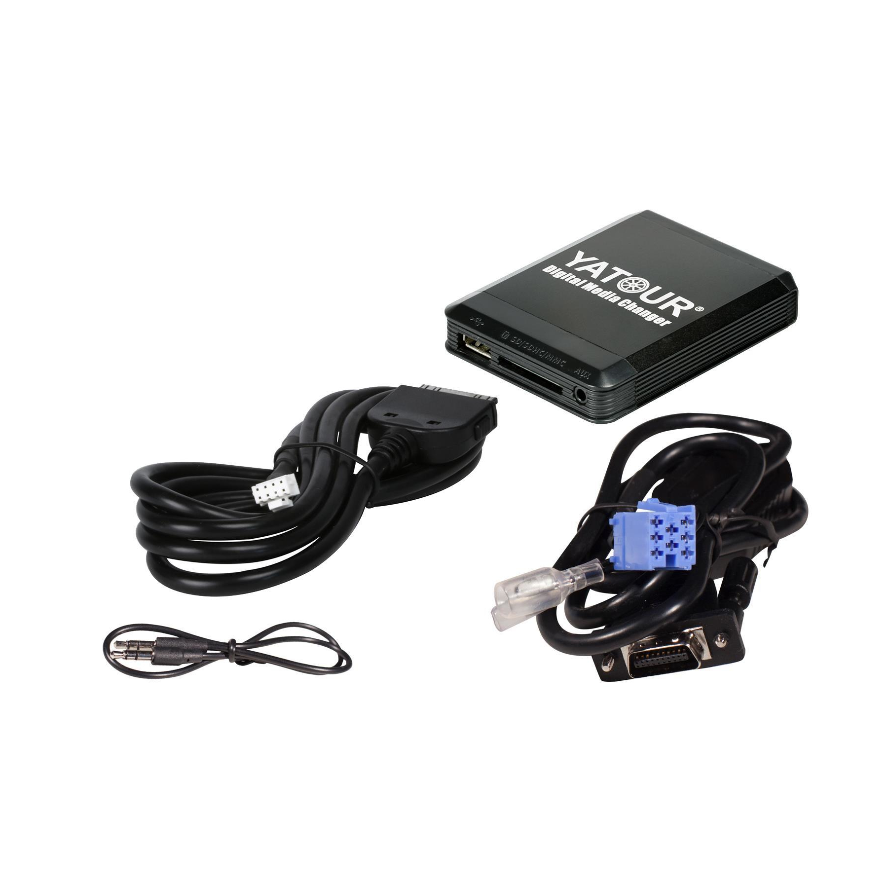 Yatour USB SD iPhone iPod iPad AUX Adapter Peugeot Citroen RD3 Radios